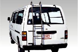 ROCKY(ロッキー)SL-20 1BOXバン用ハシゴ(ステンレスパイプ)旧型車キャラバン・ ファーゴバン(E24系)標準ルーフ, 森町:0ebf63ba --- officewill.xsrv.jp
