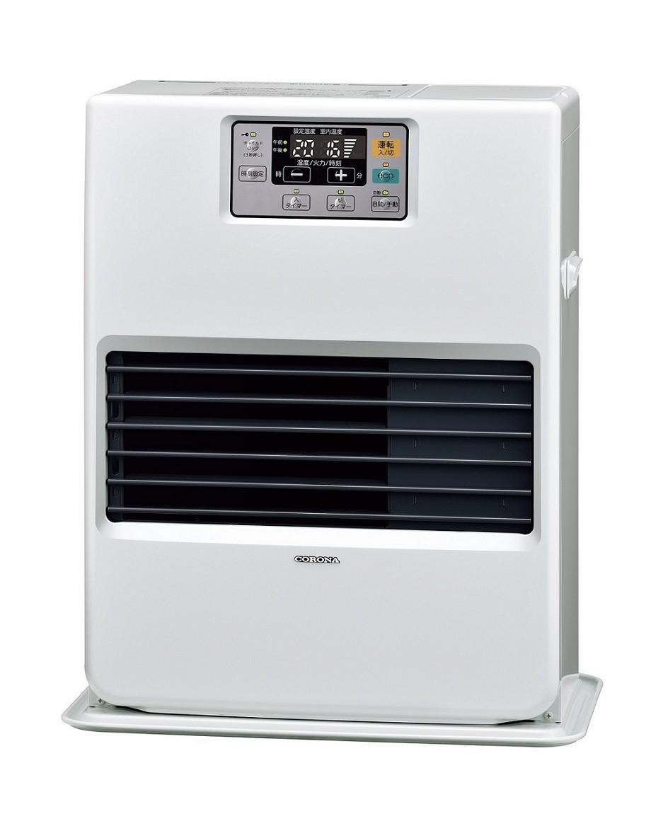 コロナ FF式 温風 暖房機 FF-VG35SA 別置タンク式 石油ストーブ 9畳