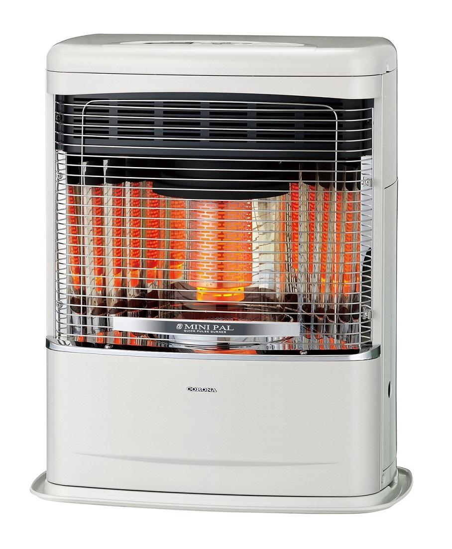 コロナ FF式 輻射 暖房機 FF-VT4218P 別置タンク式 石油ストーブ 14畳