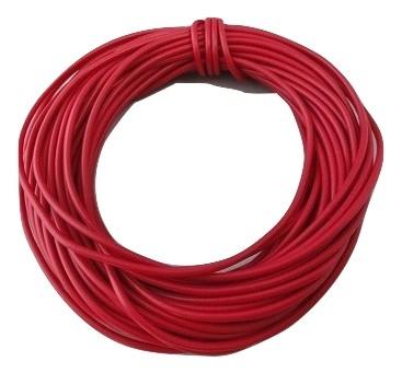 塩化ビニル絶縁電線・コード <電線・カラーコード><約10m・赤2・AVR0.4><cod-042>