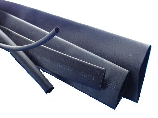 熱収縮チューブ スミチューブA同等品 毎週更新 類似品通販 販売 収縮前の円の直径φ11mm 黒 長さ約1m suc-030 実測約φ13.6mm 卸直営