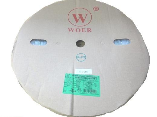 <熱収縮チューブ通販・販売><透明 熱収縮チューブ 円の直径φ2mm>1巻約400m<suc-205>