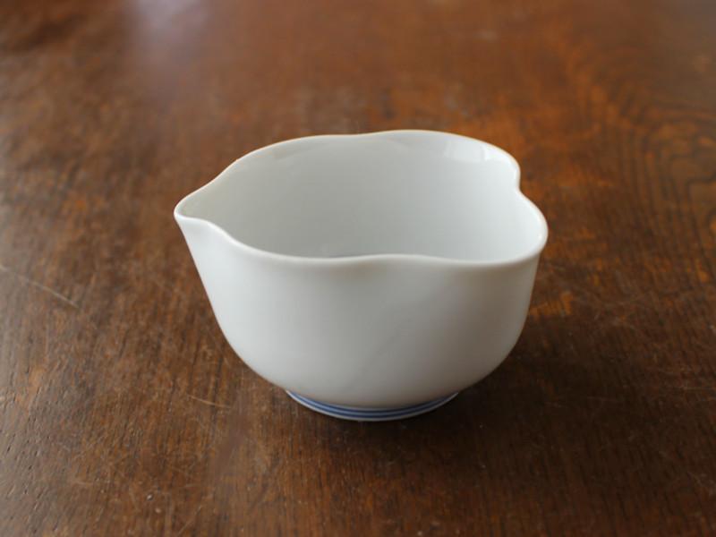 お茶を美味しく シンプル 日本茶 茶器 茶道具 予約販売品 アウトレット 春の新作 ピッチャー 藍ライン白 湯冷まし 茶出し