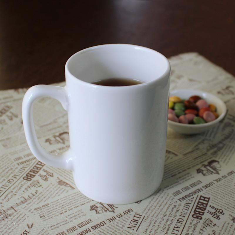 クリーム色 マグカップ シンプルマグカップ コーヒーカップ 注目ブランド お買い得 普段使い アウトレット おうちカフェ カフェ 淡クリームストレート350ccマグ Φ7.6cm×h10.2cm