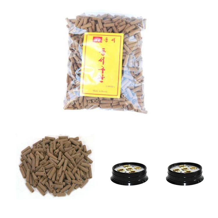 【取り寄せ商品】【送料無料】Dongseo灸スティックパイプMoxa Gu-Gwan東洋医学1000個/パック&5穴Moxaプレート2個 Dongseo Moxibustion Stick Pipe Moxa Gu-Gwan Orient Medicine 1000 PCS / Pack & 2 Pieces of 5 Hole Moxa Plate