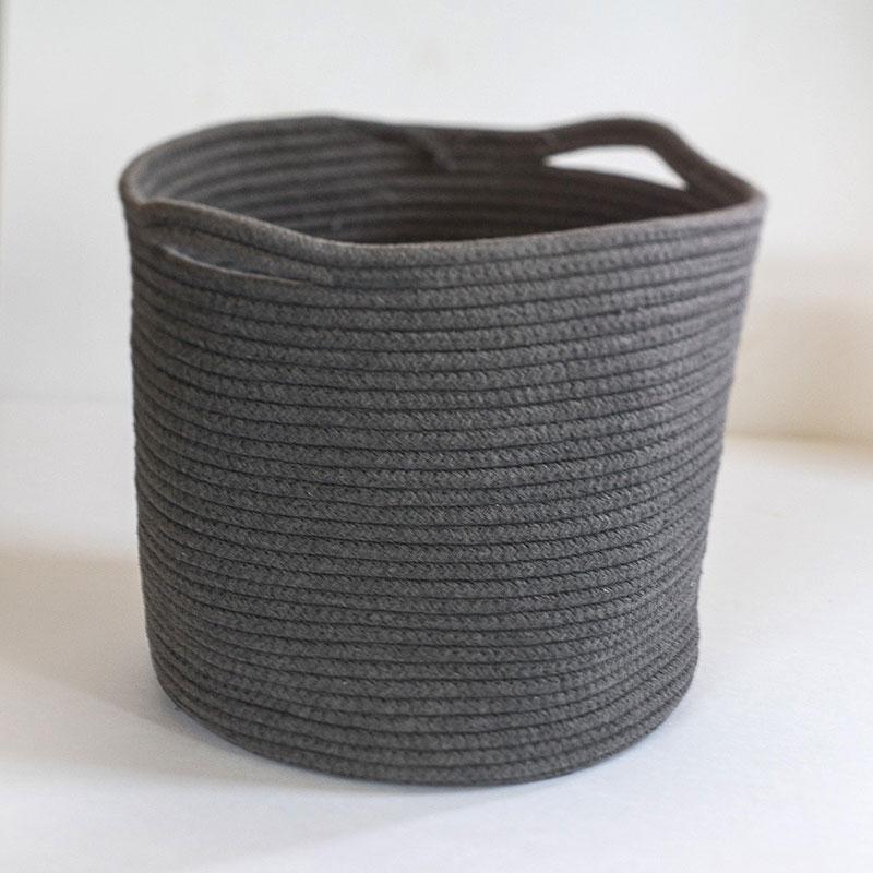 ランドリーバッグ ランドリーバスケット [b2c コットンロープ バスケット-M] サラサデザインストア sarasa design store
