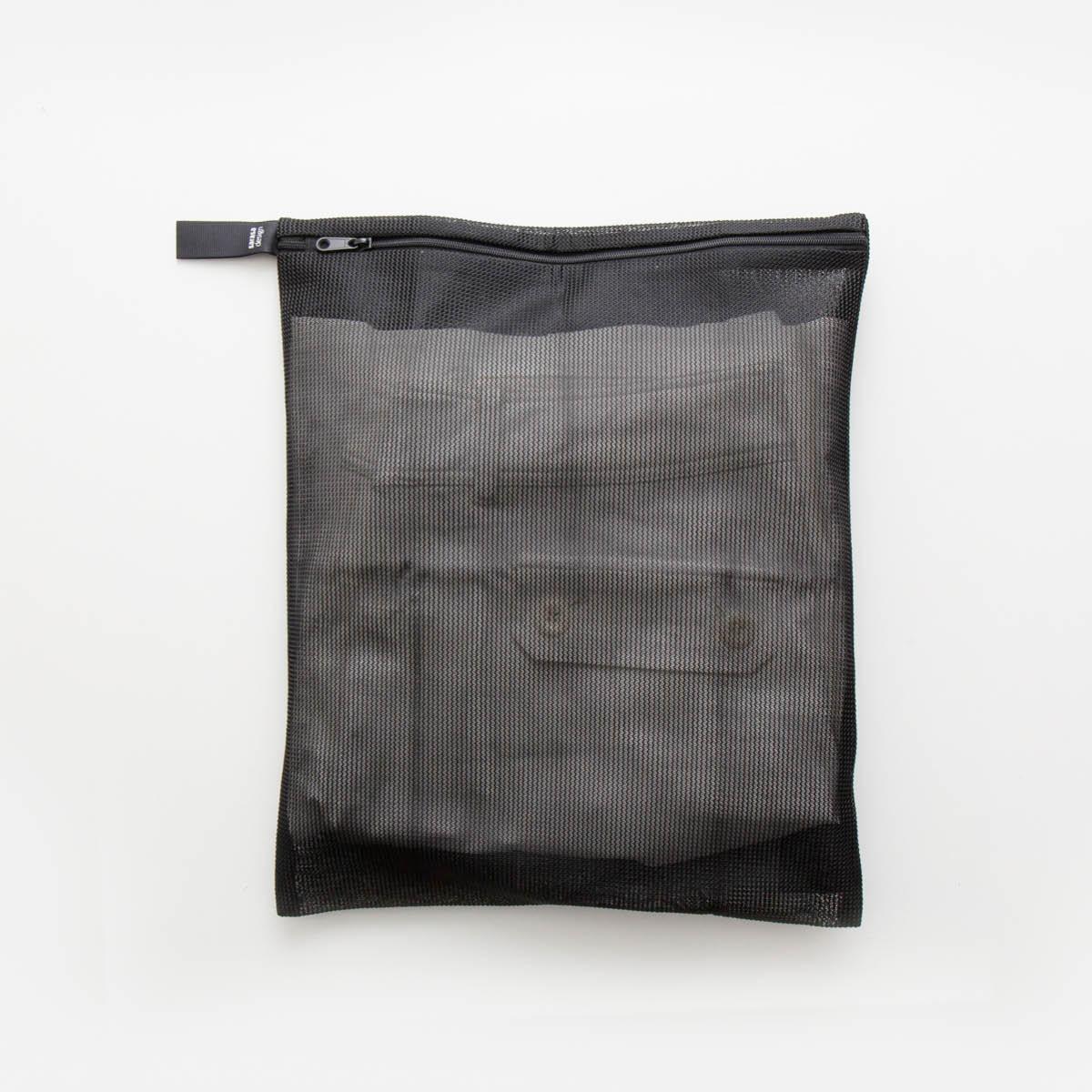 洗濯ネット おしゃれ 《メール便可》b2c ランドリーネット 日本メーカー新品 リバーシブル セール特価 フラット #SL_LA M