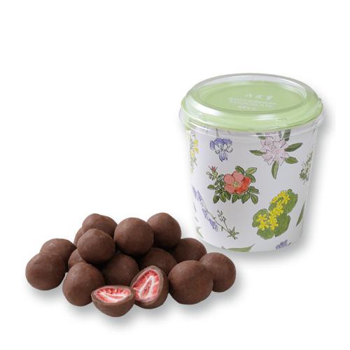 六花亭 直送商品 ストロベリーチョコ 130g 期間限定特別価格 ミルク