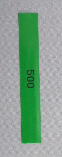 点数表示枠用 テンリーダー点棒チューブ カラー(五百点・緑)
