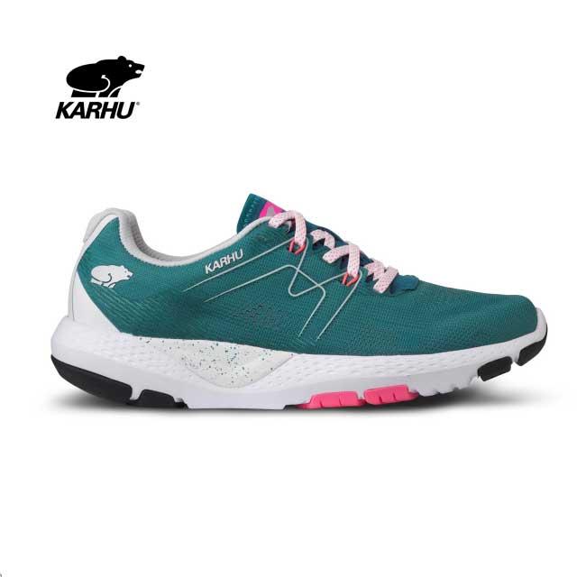 KARHU(カルフ) スニーカー【2020春夏モデル】 WOMEN'S IKONI ORTIX MOSAIC BLUE/NEON PINK KH200284