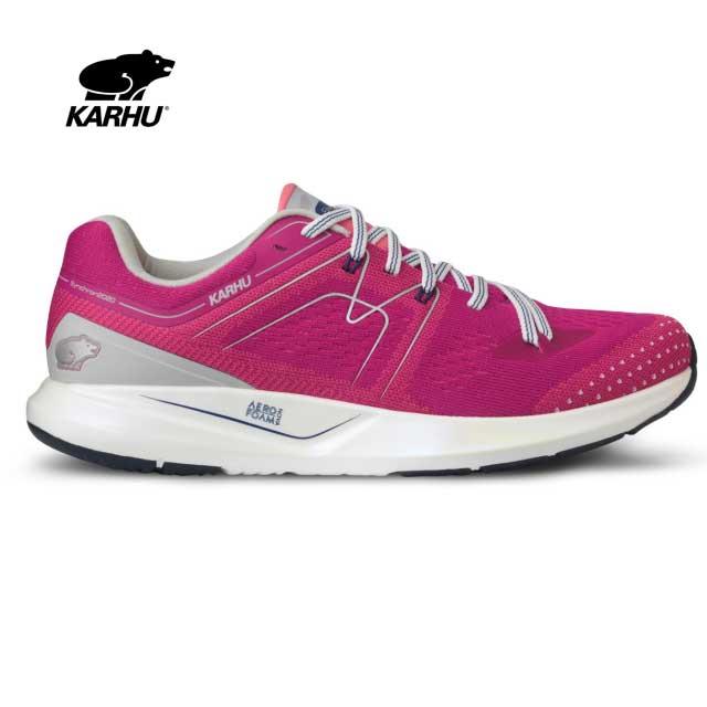 KARHU(カルフ) スニーカー【2020春夏モデル】 WOMEN'S IKONI ORTIX MOSAIC BLUE/NEON PINK KH200288