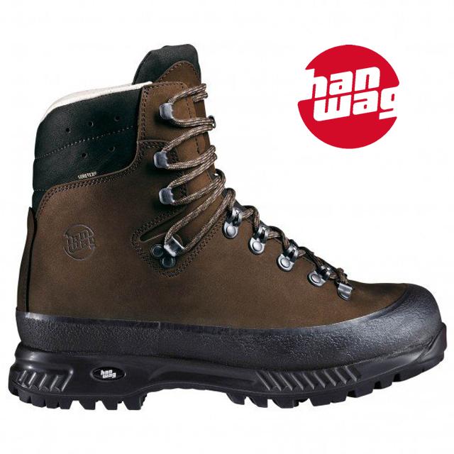 【hanwag】(ハンワグ) alaska wide GTX アラスカ ワイド ゴアテックストレッキングシューズ 登山靴 アウトドア (メンズ)