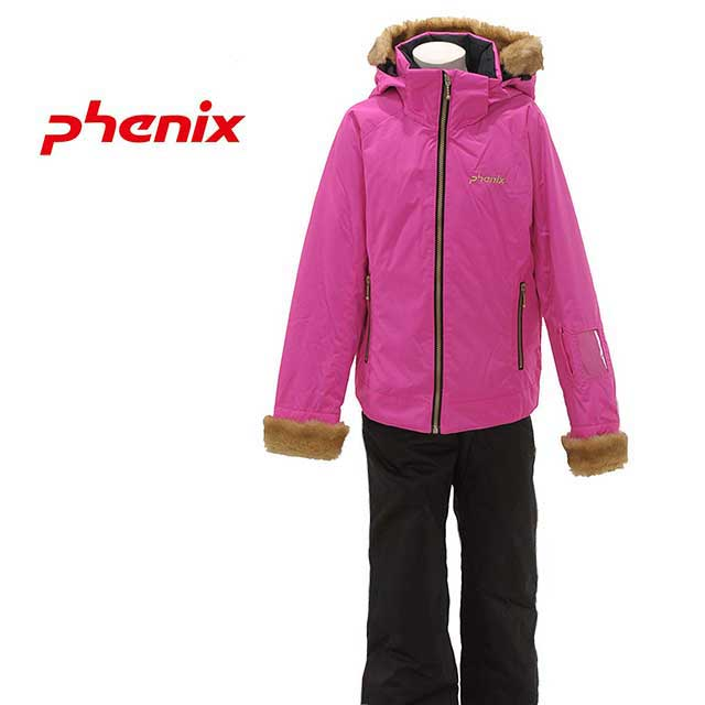 【売り尽くし】フェニックス【PHENIX】Luna Girl's Two-Pice PS4H22P91 ルナ ガールズ キッズ スキー ウェア上下セット アクティビティー 雪遊び ゲレンデ スノーウェアー (キッズ)