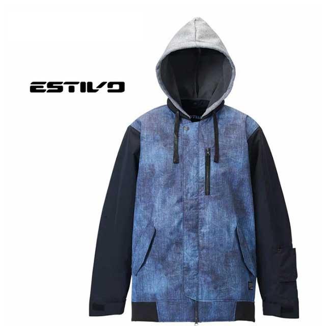 【2019-20モデル】エスティボ EV-SUPERB JKT ジャケット EVM1913 スノーウェアー 防水 軽量 雪山 スノボ スノーボード ジャケット 雪遊び アクティビティー ゲレンデ(メンズ)