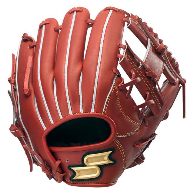 SSK(エスエスケイ)硬式グラブ プロエッジ 内野手 PEK-64118F-48 レディッシュブラウン 野球 グローブ