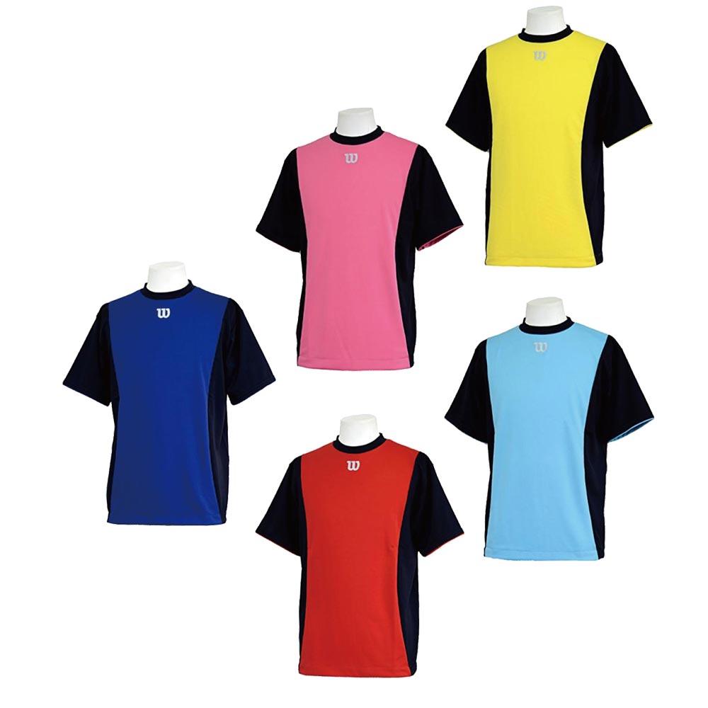 休み 店頭併売在庫商品 激安卸販売新品 メール便可 ウィルソン Wilson ベースボール Tシャツハーフスリーブ Tシャツ WTA18HS
