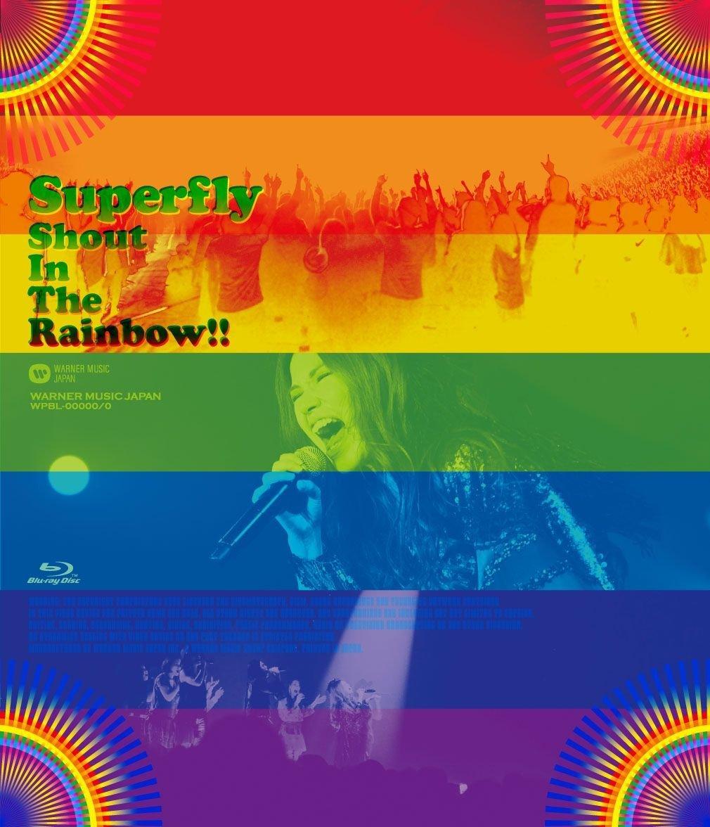 新品 Superfly Shout In The Rainbow!! 初回限定盤 Blu-ray