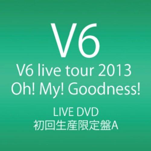 新品 V6 live tour 2013 Oh! My! Goodness! DVD4枚組 初回生産限定盤A