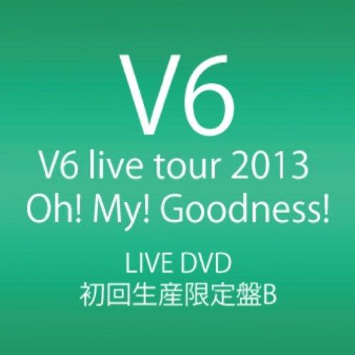 新品 V6 live tour 2013 Oh! My! Goodness! DVD4枚組 初回生産限定盤B