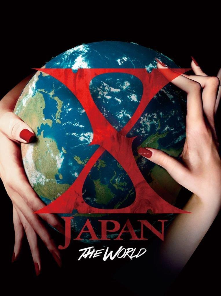 訳あり 新品 THE WORLD X JAPAN 初の全世界ベスト 初回限定豪華BOX盤 CD+DVD 外箱に色あせあり