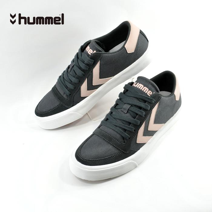 hummel スニーカー ヒュンメル hummelSTADIL RMX LOW ライフスタイル スタディール ローカット お気にいる シューズ HM65100 ASPHALT メンズ アスファルト 25cm~ 靴 お買い得品 ユニセックス