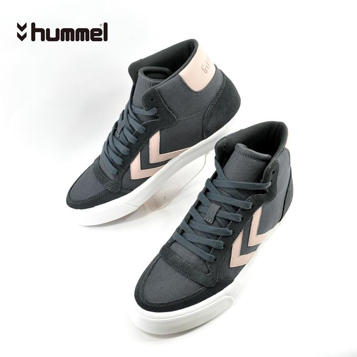 ヒュンメル hummelSTADIL RMX HIGH ライフスタイル スタディール ハイカット アスファルト(ASPHALT(25cm~)) HM65101 スニーカー メンズ ユニセックス シューズ 靴
