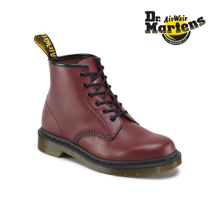 ドクターマーチン Dr.MartinsCORE 101 6EYE BOOT 101 6ホールブーツ レースアップ 編み上げ チェリーレッド(CHERRY RED(25cm~)) 10064600 ワークブーツ メンズ ユニセックス シューズ 靴