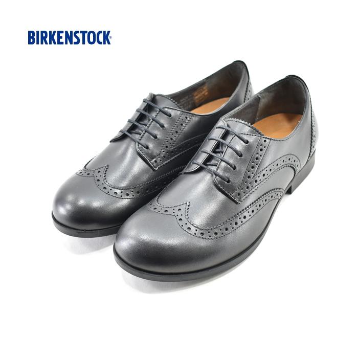 ビルケンシュトック BIRKENSTOCKLARAMIE LOW ララミー ロー ブーツ レースアップ ウィングチップ レザー 革靴 NARROW FIT ナローフィット ブラック・黒・クロ(BLACK) 10069 コンフォートシューズ レディース シューズ 靴