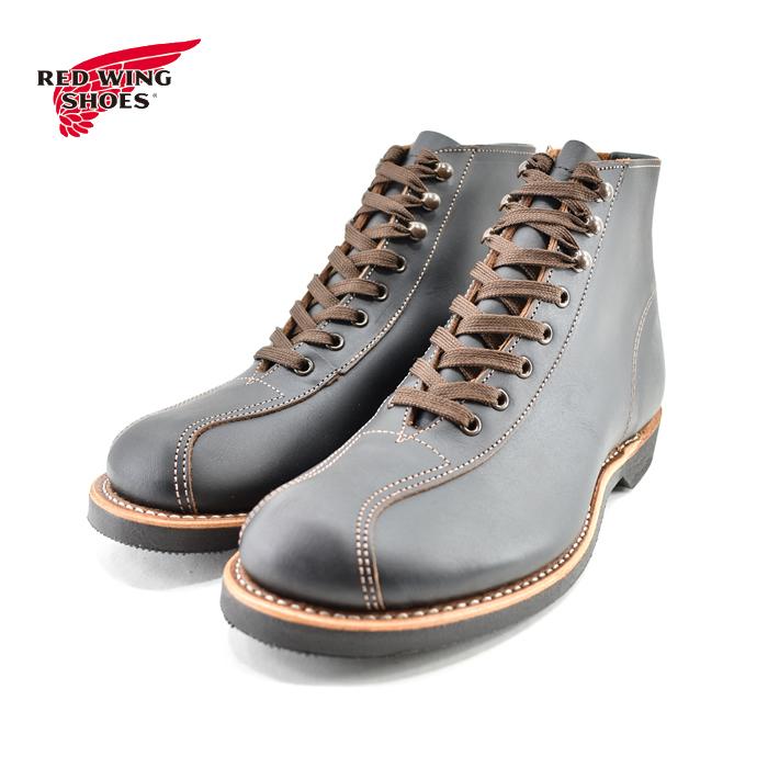 [取寄せ可] レッドウィング RED WING1920s OUTING BOOT 1920s アウティングブーツ ショートブーツ フラットボックス 黒・クロ ブラック プレーリー(ブラック) 8825 ブーツ メンズ シューズ 靴