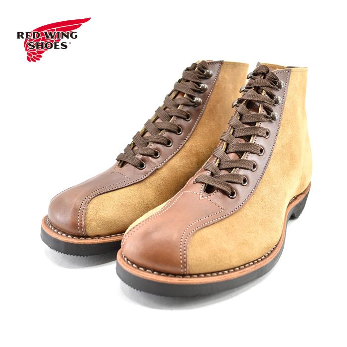 レッドウィング RED WING1920s OUTING BOOT 1920s アウティングブーツ ショートブーツ フラットボックス ティーク/ホーソーン ミュールスキナー(TEAK/HAWTHORNE) 8827 ブーツ メンズ シューズ 靴