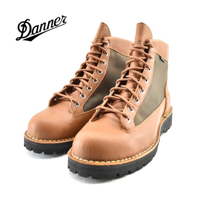 ダナー DannerDANNER FIELD ダナーフィールド GORE-TEX ゴアテックス 防水 2E EE アウトドア トレッキング ハイキング タン/ダークブラウン(TAN/D.BROWN) D121003 ブーツ メンズ シューズ 靴