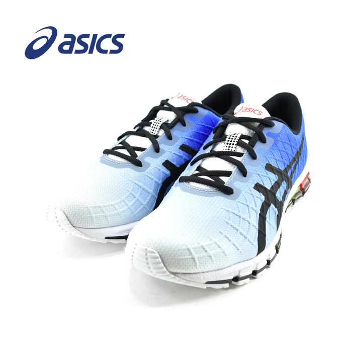 アシックス asicsGEL-QUANTUM 180 4 ゲルクォンタム180 4 マラソン ランニング ジョギング ウォーキング ホワイト/ブラック(WHITE/BLACK) 1021A104 スニーカー メンズ シューズ 靴