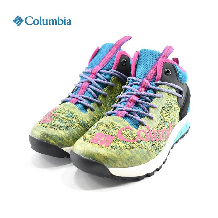 コロンビア Columbiaロックントレイナー2ミッド アウトドライ Rock' N Trainer 2 Mid Outdry ミッドカット 防水 アウトドア ハイキング フェス ズール イエロー(ZOUR(25cm~)) YU0248 スニーカー メンズ ユニセックス シューズ 靴