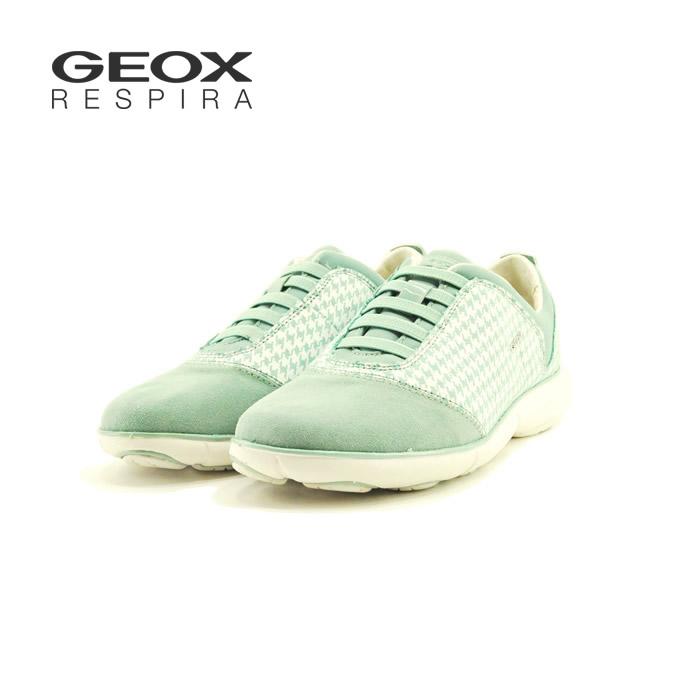 ジェオックス Geoxジオックス 00722 D NEBULA 千鳥 スリッポン スリップオン カジュアル ・通勤・通学 ライトグリーン(LT GREEN) D621EC スニーカー レディース シューズ 靴