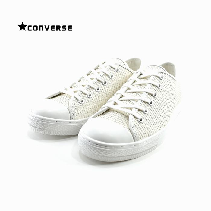 コンバース CONVERSEALL STAR COUPE WOVEN OX オールスター クップ ウーブン OX オックス ロー 編み込み リゾート ホワイト・白・シロ(WHITE(~24.5cm)) 3130002 スニーカー レディース ユニセックス シューズ 靴