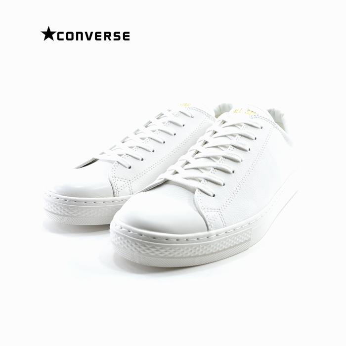 コンバース CONVERSEALL STAR COUPE LEATHER OX オールスター クップ レザー OX オックス ローカット 本革 通学・通勤 ホワイト 白 シロ(WHITE(25cm~)) 3130029 スニーカー メンズ ユニセックス シューズ 靴