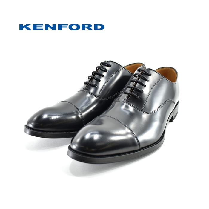 ケンフォード KENFORDストレートチップ 内羽根 2E EE ポインテッドトゥ ビジネス・フォーマル・紳士 ブラック 黒 クロ(BLACK) 811RAL ビジネスシューズ メンズ シューズ 靴