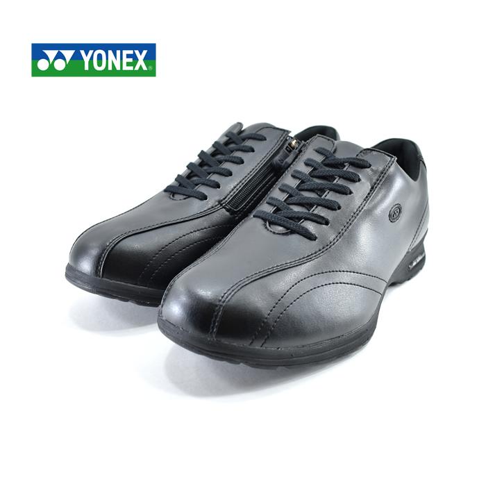 ヨネックス YONEXウォーキングシューズ カジュアルウォーク パワークッション 4.5E 撥水 旅行 観光 レジャー 黒 クロ(ブラック) MC30W ウォーキングシューズ メンズ シューズ 靴