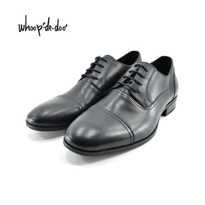 フープディドゥ whoop-de-dooSCHUHE SCHNEIDER シュッフェ シュナイダー ストレートチップ 外羽根 ビジネス・フォーマル・紳士・就活 ブラック 黒 クロ(BLACK) 308733 ビジネスシューズ メンズ シューズ 靴