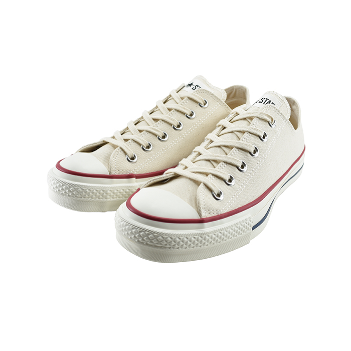 コンバース CONVERSECANVAS ALL STAR J OX キャンバス オールスター J OX オックス ローカット 日本製 定番 通学・通勤 ナチュラルホワイト 生成り キナリ 白 シロ 12(N WHITE(25cm~)) 32167710 スニーカー メンズ ユニセックス シューズ 靴