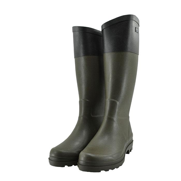 エーグル AIGLEAIGLENT COL2 エーグランティーノ カラーブロック ラバー 防水 通学・通勤 カーキ/ノワール カーキ/ノアール ブラック 黒 クロ 32(KAKI/NOIR) ZZF8881 長靴 レインシューズ レディース シューズ 靴