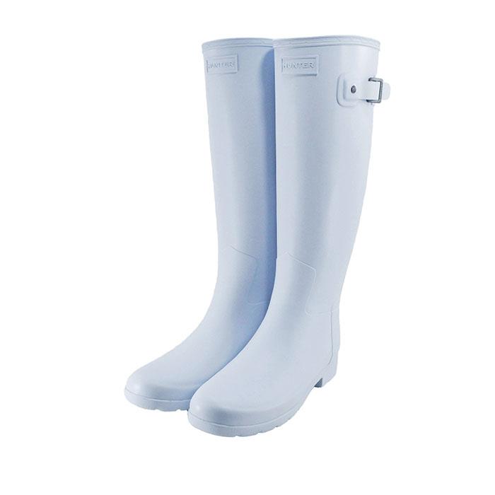 ハンター HUNTERORIGINAL REFINED オリジナル リファインド ブーツ ラバー 防水 ギャロウェイ サックス ライトブルー 32(GALLOWAY) WFT1071RMA 長靴 レインシューズ レディース シューズ 靴