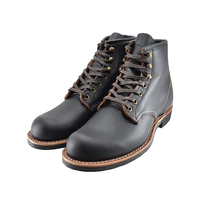 送料無料 RED WING ブーツ 取り寄せ可 レッドウィング WINGBLACKSMITH ランキングTOP10 ブラックスミス ラウンドトゥ Dワイズ メンズ 新生活 クロ ワークブーツ 靴 ブラック 42 3345ty 黒 シューズ