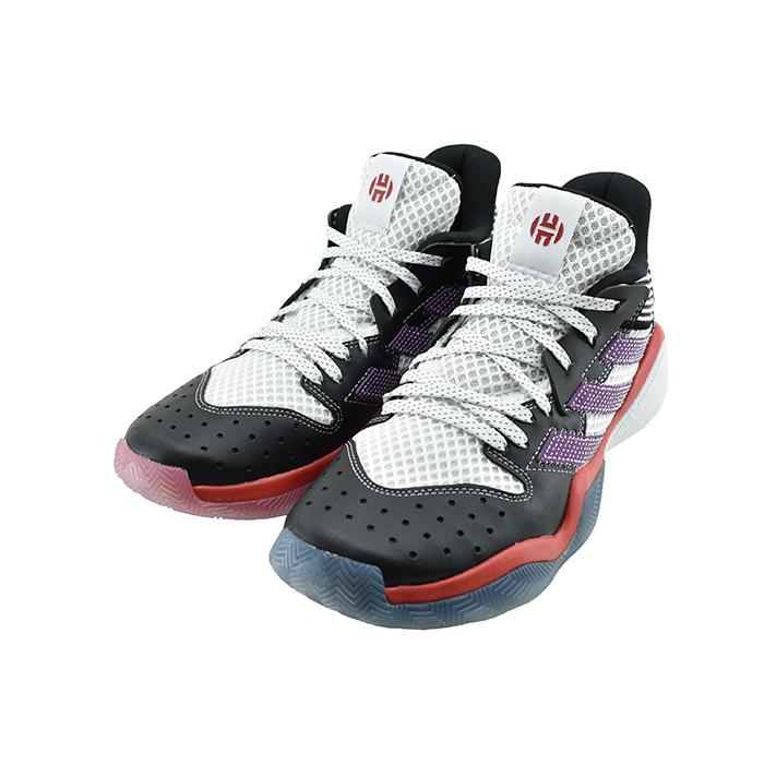 アディダス ハーデン ステップバック ヒューストン・ロケッツ EH1995 adidasHarden スニーカー ジェームス・ハーデン IRW41 ミッドカット 52(FTWWHT/GLOPRP/CBLACK) フットウェアホワイト/グローリーパープル/コアブラック 靴 シューズ Stepback メンズ NBA