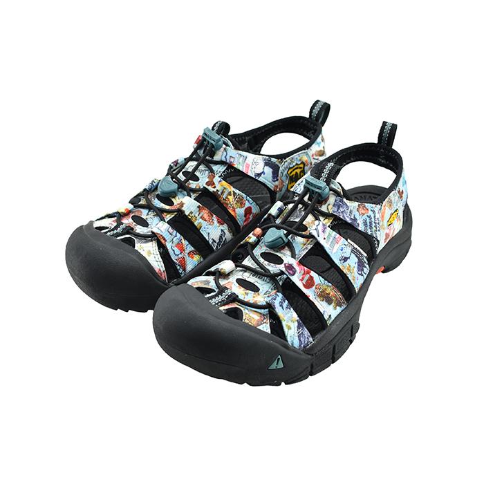 キーン KEENNEWPORT H2 ニューポート エイチツー H2 スポーツサンダル スポサン 水陸両用 マリン ウォーター キャンプ アウトドア レジャー フェス ニューACOコラージュ アコースティックキャンプ 72(NEW ACO COLLAGE) 1023417 サンダル メンズ シューズ 靴