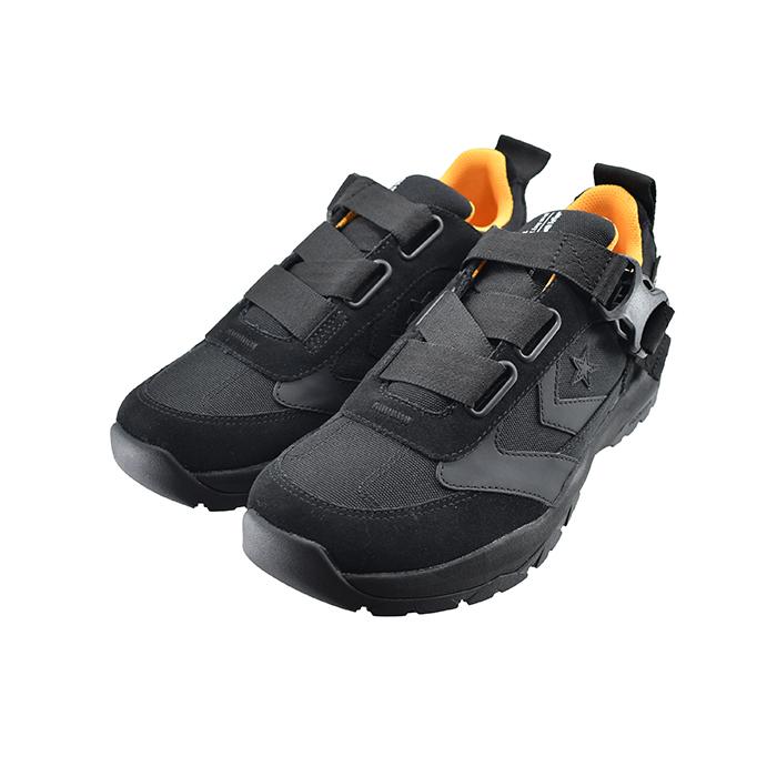 キャンプ コンバース RSS メンズ ユニセックス シューズ 靴 ハイキング 34200350 黒 バックル CONVERSEシェブロン&スター ローカット クロ CP アウトドア トレッキング 82(ブラック(25cm~)) スニーカー