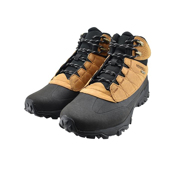 ポーラー 02(ウィート) ICE+ J000991 アイスプラス MERRELLCOLDPACK シューズ スノーシューズ 6インチ キャメル 靴 ウォータープルーフ メンズ メレル ブラウン WATERPROOF POLAR コールドパック 防水 ブーツ 6