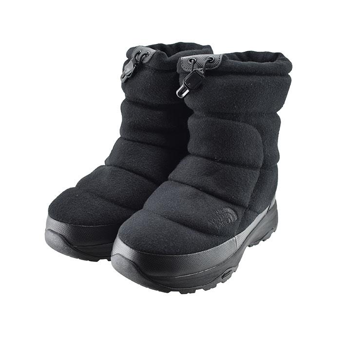 [送料無料!]THE NORTH FACE ブーツ スノーシューズ ノースフェイス THE NORTH FACENuptse Bootie WP 6 ヌプシ ブーティ ウォータープルーフ 6 防水 スノーブーツ ウィンターブーツ 93(ウールブラック×TNFブラック(~24.5cm)) NF51873 ブーツ スノーシューズ レディース ユニセックス シューズ 靴