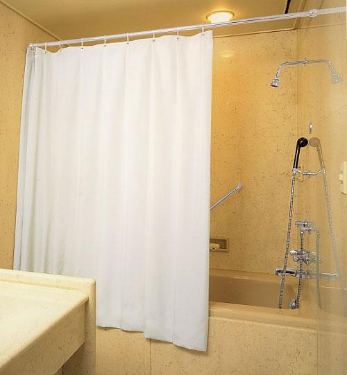 ニューエコIIソフトトーンの全6色ウォータープルーフシャワーカーテン仕上幅W:205cm~250cm仕上丈H:165cm~210cm防炎 ウォッシャブル撥水 防水 日本製