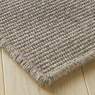 Flat Woven Rugs Carpet Wool Stripe 100%